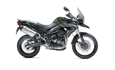 Tiger 800XC Matt Khaki Green