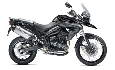 Tiger 800XC Phantom Black